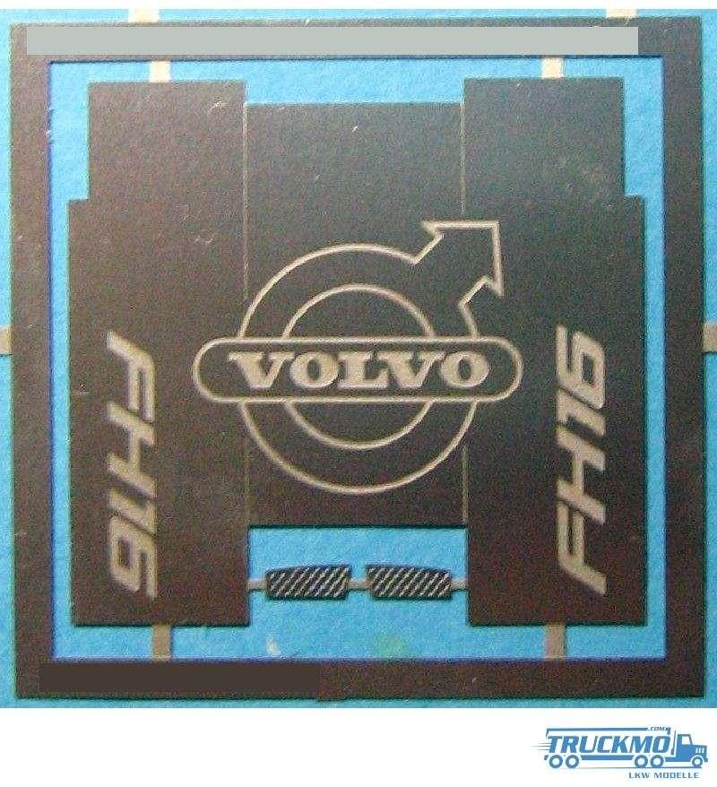 Decals Ätzteile Volvo FH16 Chassisabdeckung / Trittstufen 12A-0892