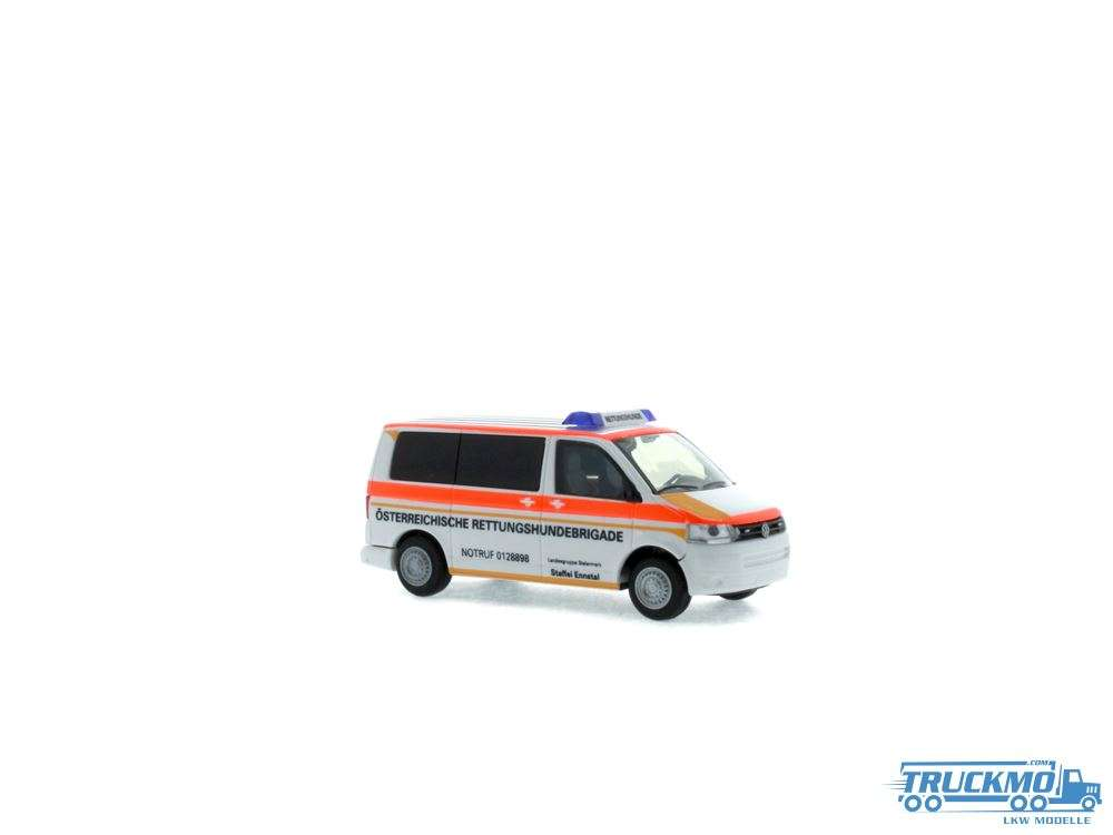 Rietze Modelle Österreichische Rettungshundebrigade Oberösterreich Volkswagen T5 10 53441