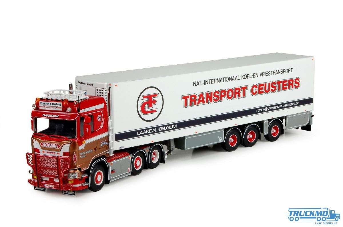 Tekno Ronny Ceusters Scania S-Serie lowline mit Kühlauflieger 71644