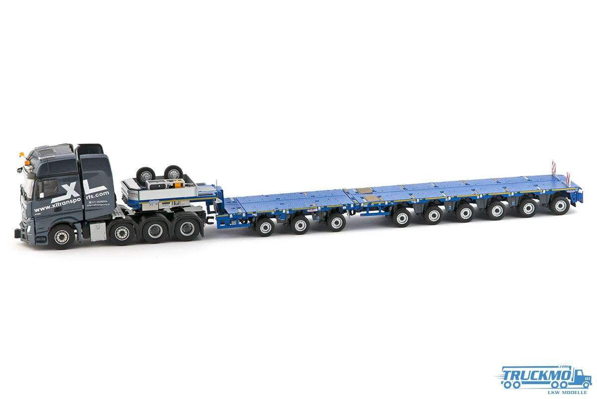 IMC XL Transports Mercedes Benz Actros2 GigaSpace 8x4 mit Nooteboom MCO PX 3+6 Achs 33-0049