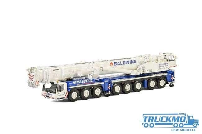 WSI Baldwins Crane Hire Liebherr LTM1500-8.1 Mobilkran 51-2003