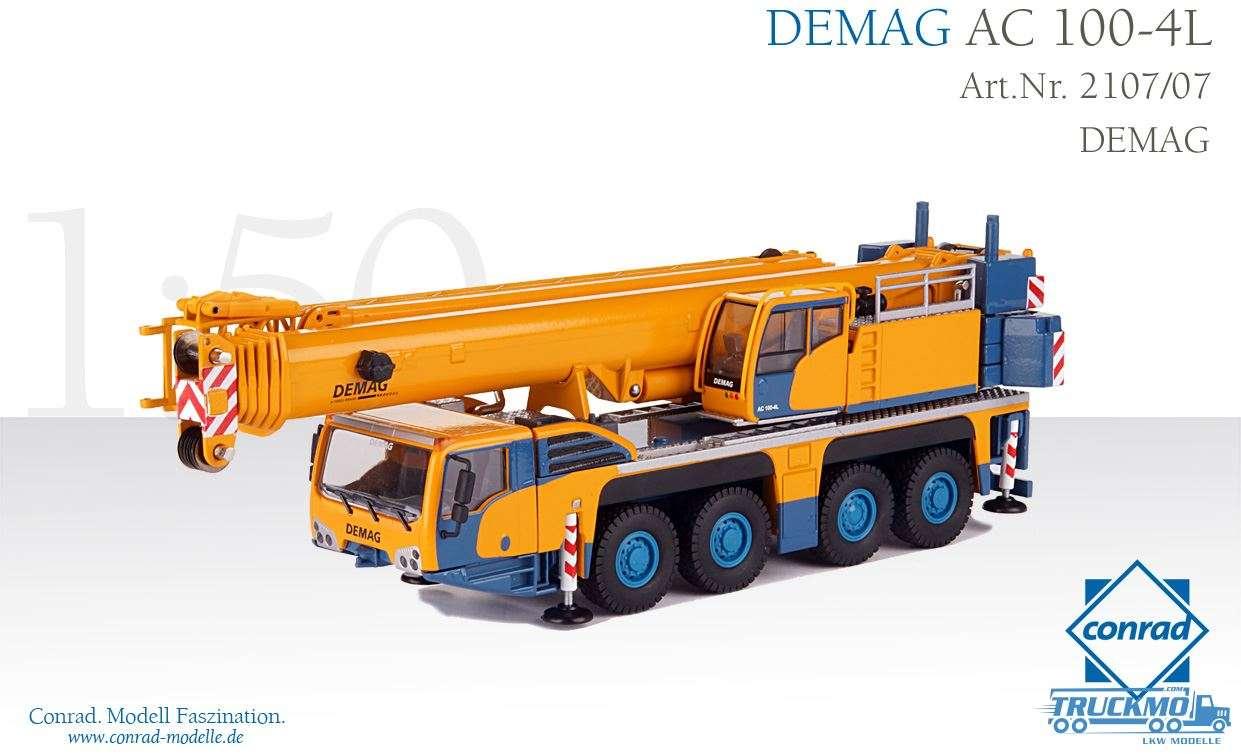 Conrad Demag AC 100-4L mobile crane 2107/07