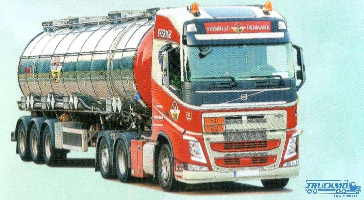 6cb11761e636 AWM Rasmussen Volvo FH12 Globetrotter bulk trailer 53659