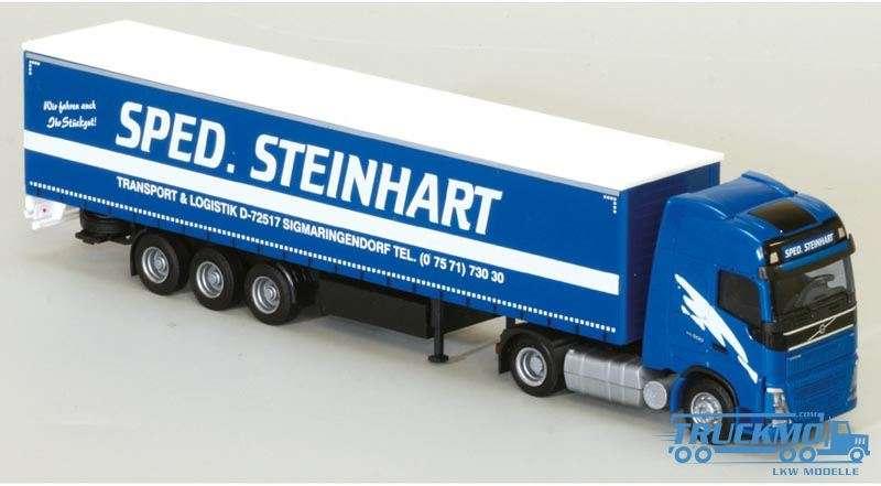 AWM Steinhart Volvo FH04 GL XL Planensattelzug 75220