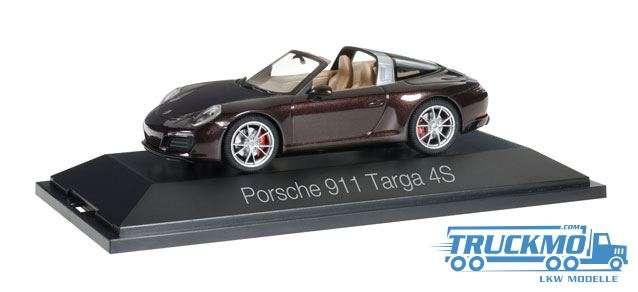 Herpa Porsche 911 Targa 4S mahagonimetallic 071130