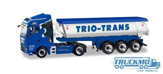 Herpa Trio-Trans MAN TGX XLX Euro 6c Thermomulden-Sattelzug 310673