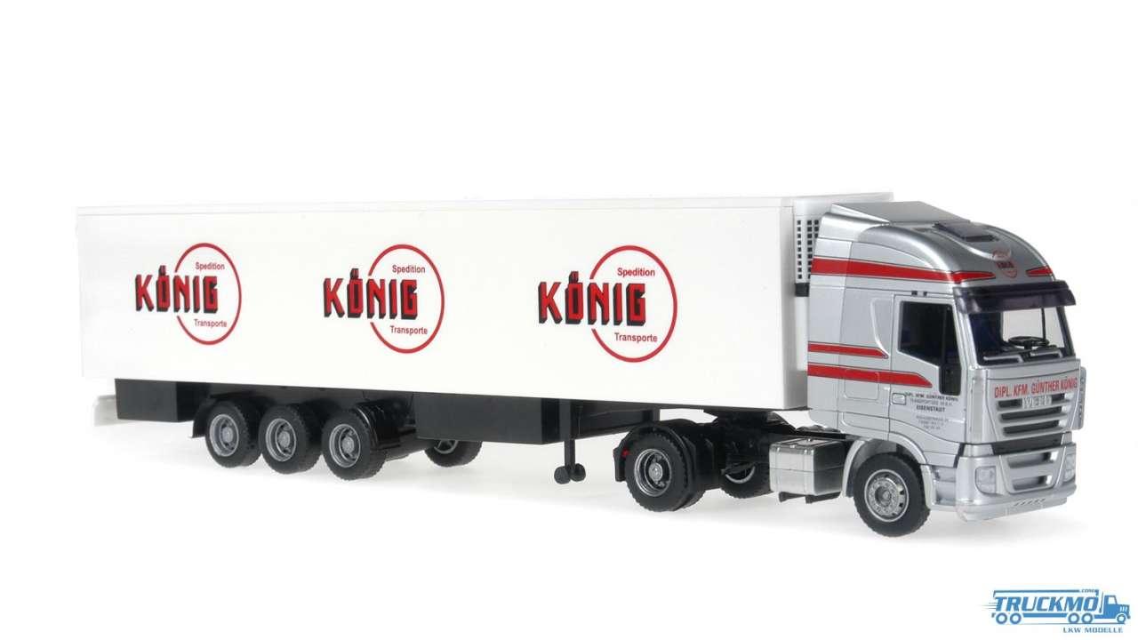 Rietze König Transporte Iveco Stralis Kühlauflieger 60873