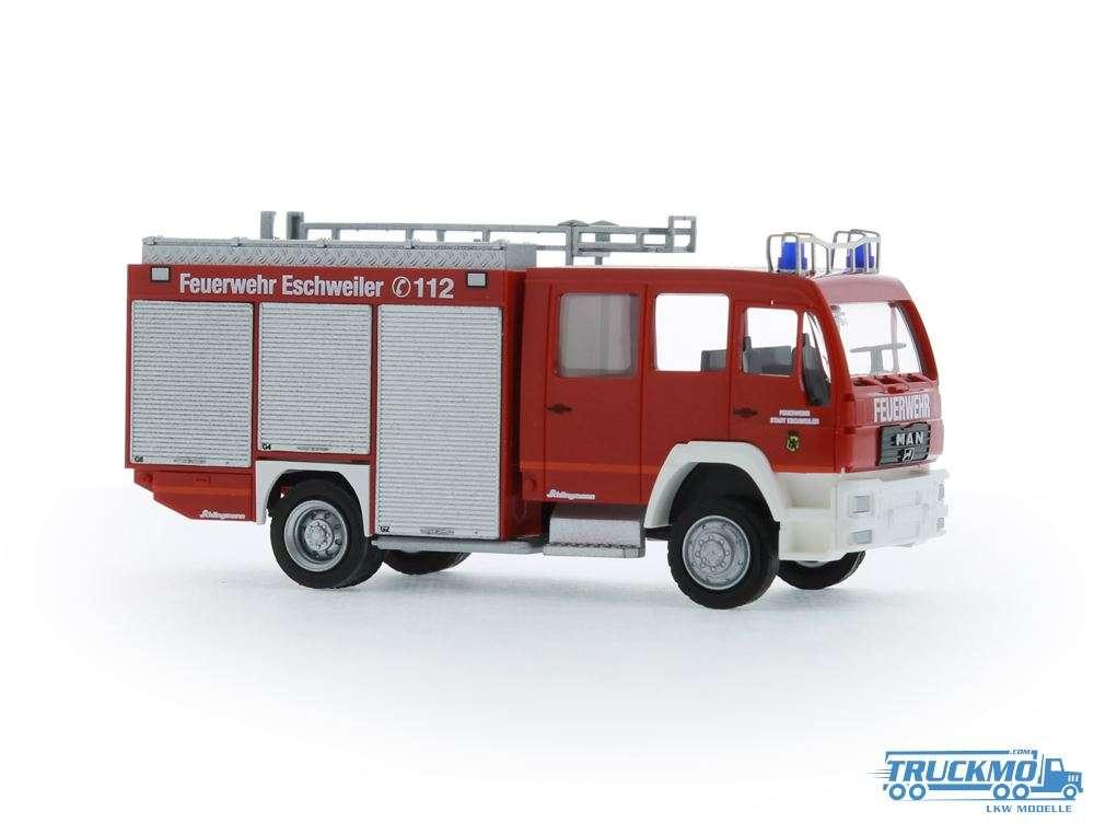 Rietze Feuerwehr Eschweiler Schlingmann MAN TLF 16/25 68271