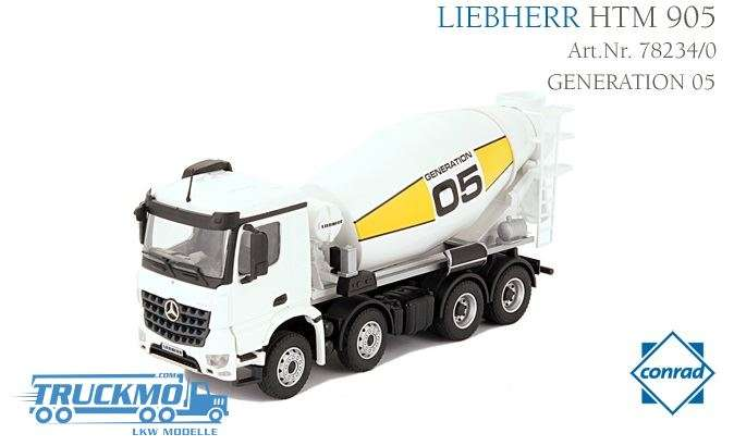 Conrad Mercedes Benz Arocs Fahrmischer Liebherr HTM905 78234/0