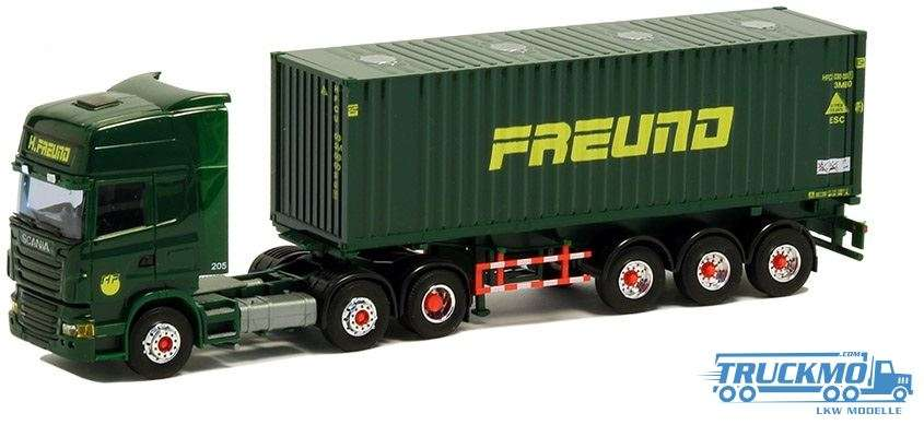 AWM Freund Scania R09 Topline 30ft. Bulk Container 74972
