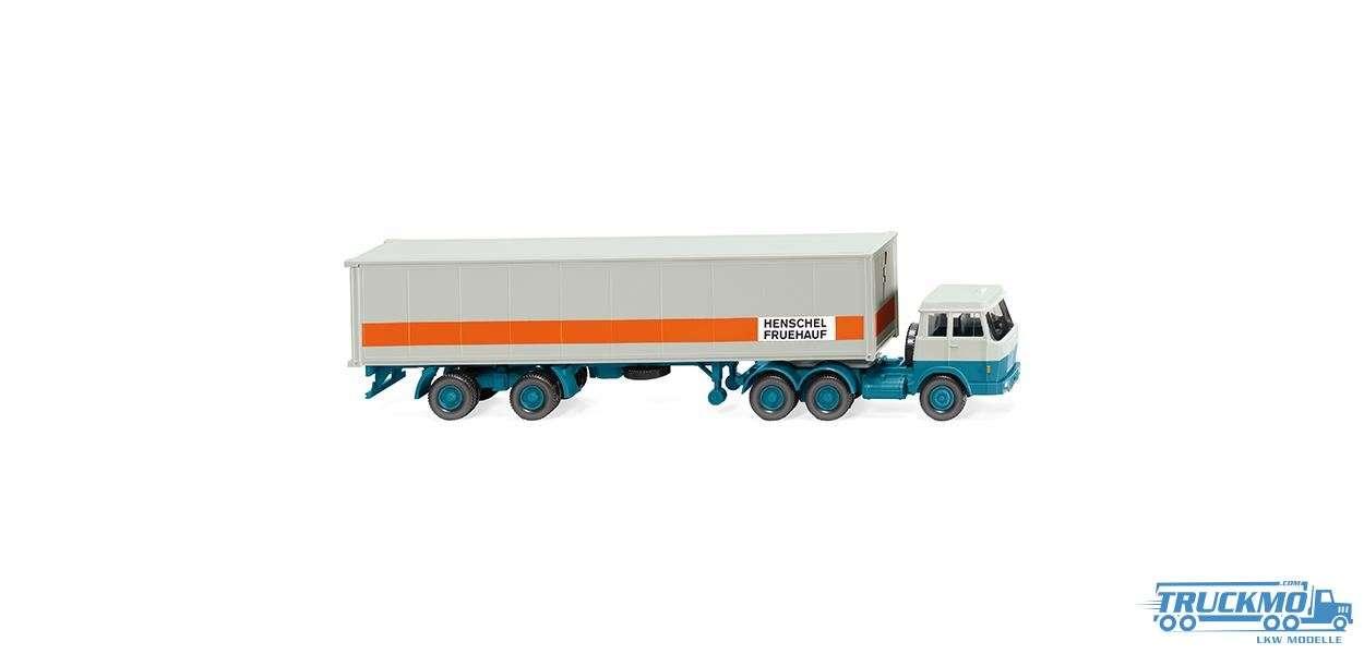 Wiking Hanomag Henschel Containersattelzug 052705