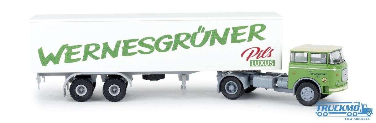 Brekina Wernesgrüner Pils LIAZ 706 Koffer-SZ 71811