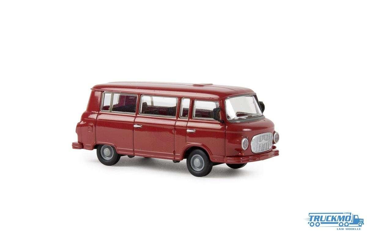 Brekina Barkas B 1000 Bus karminrot 30037