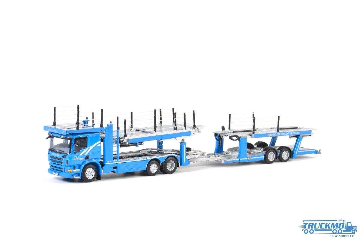 WSI Möhlmann Automobil Logistik Scania P6 Flachdach Autotransporter 01-2646