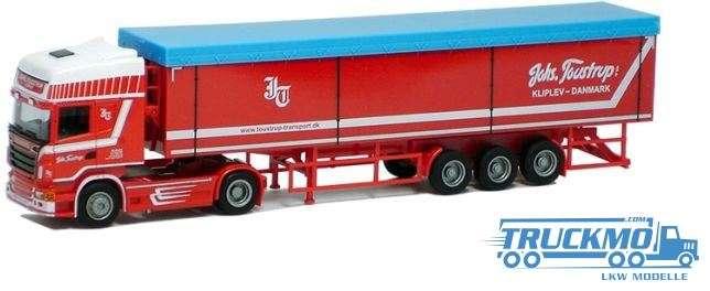 AWM Toustrup Scania 09 Topline Kipp Sattelzug 74930