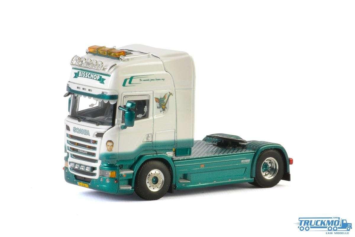 WSI Bisschop Transport LKW Modell Scania Streamline Topline 01-2418
