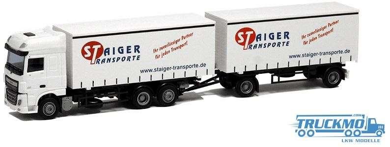 AWM Staiger DAF XF 106 Super Space Cab Hängerzug 75346