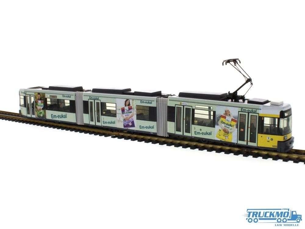 Rietze BVG-Berlin Em-eukal Adtranz GT6 BVG STRA01005