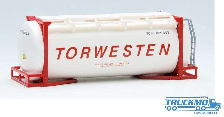 AWM Torwesten 20ft. van Hool Tankcontainer überlang 491170