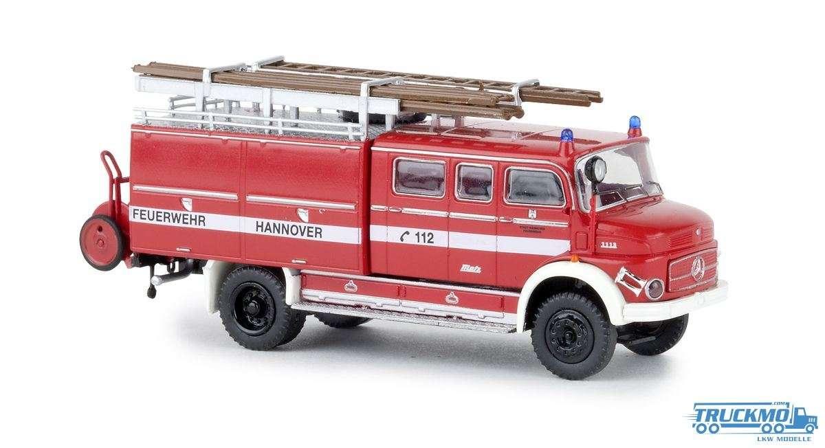 Brekina Feuerwehr Hannover Mercedes Benz LAF 1113 LF 16 47135