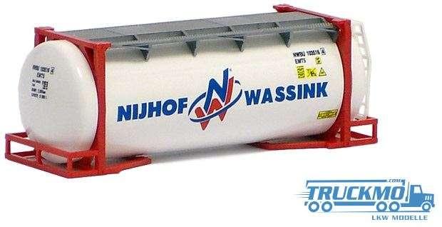 AWM Nijhof & Wassink 20ft. van Hool Tankcontainer überlang 491149