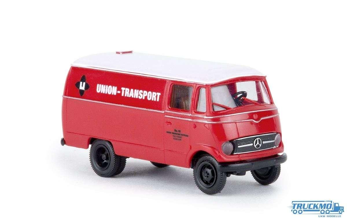 Brekina Union Transport Mercedes Benz L 319 Kasten 36036
