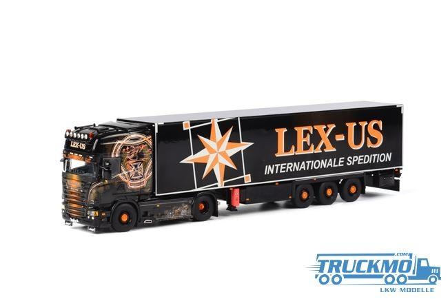 WSI Lex-Us Scania R Streamline Topline Kühlauflieger Thermoking (3 Achs)