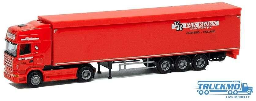 AWM Van Rijen Scania R09 Topline Schubbodenauflieger 53761