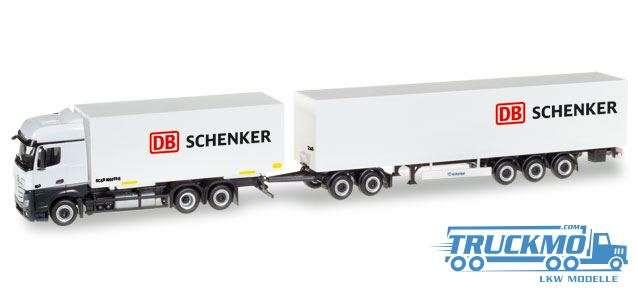 Herpa DB Schenker Mercedes-Benz Actros Bigspace Eurocombi 307864