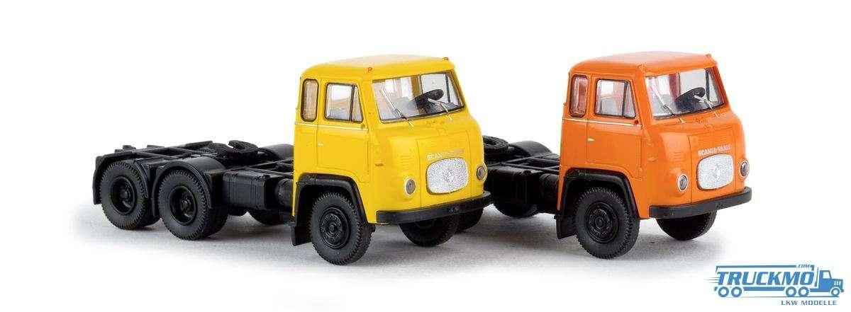 Brekina Scania LBS 76 3-Achs Set 85190