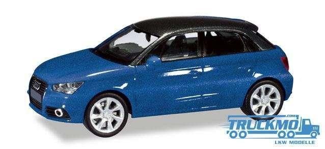 Herpa Audi A1® Sportback scubablau metallic 034890-002