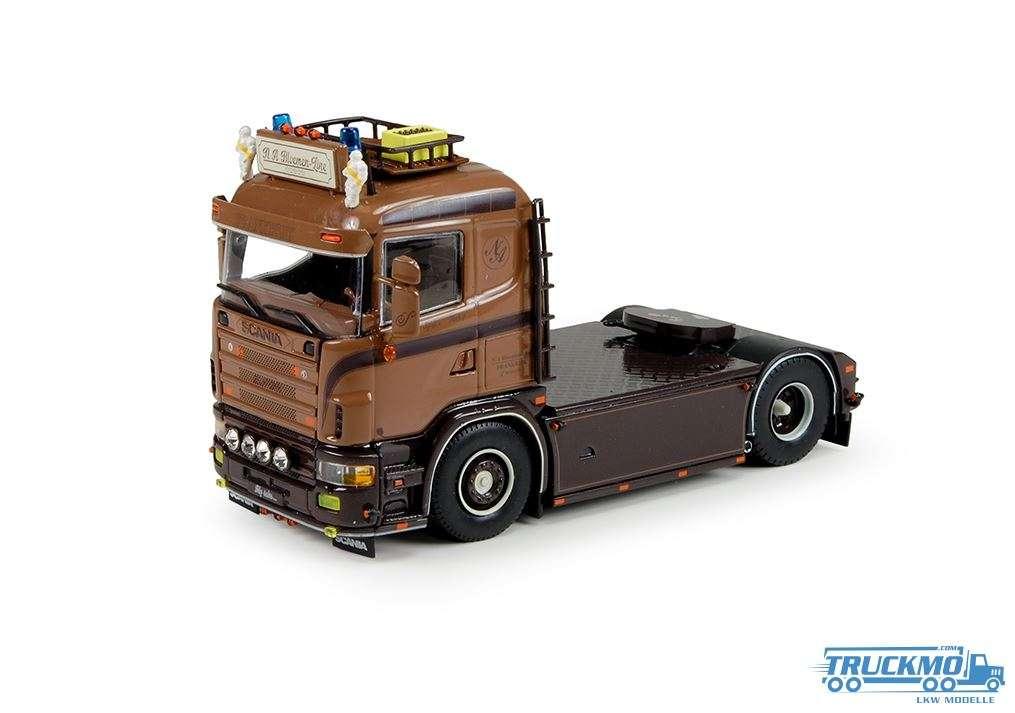 Tekno N.A. Bloemen Line LKW Modell Scania 4-serie Low cabine 70557