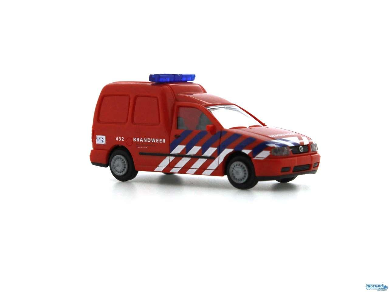 Rietze Brandweer Amsterdam Volkswagen Caddy Kasten 50848