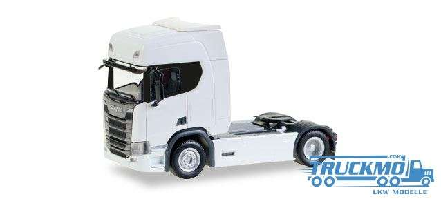 Herpa Scania CR20 HD Zugmaschine weiß 307185