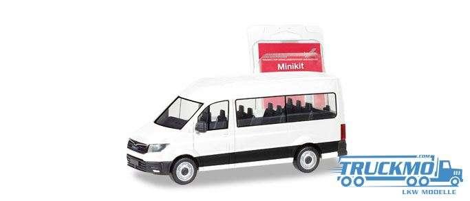 Herpa MiniKit: MAN TGE Bus weiß 012935