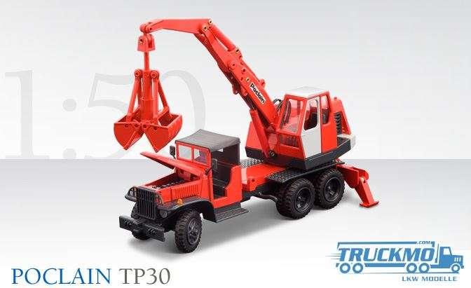 Conrad Poclain TP30 Mobilbagger Greiferschaufel 2928/0