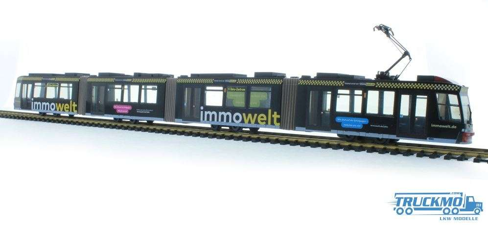 Rietze VAG Immowelt Adtranz GT 8 STRA01033