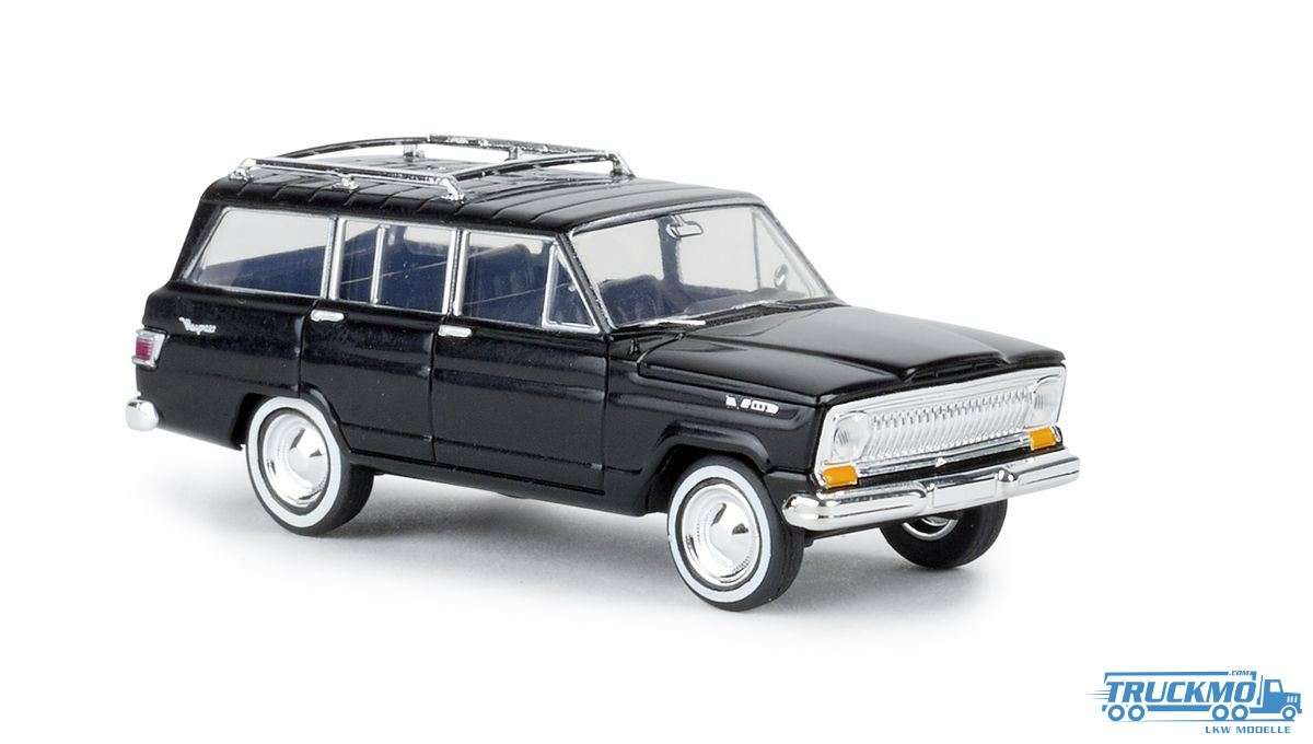 Brekina Jeep Wagoneer schwarz 19862