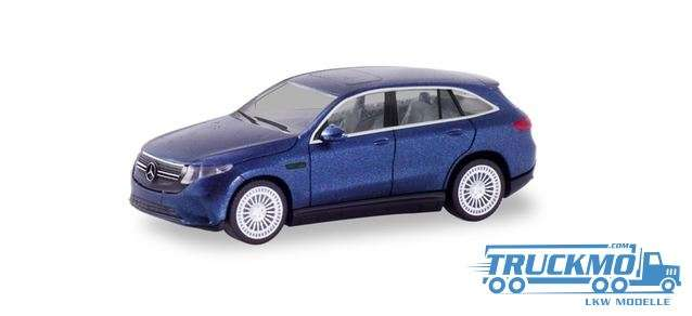 Herpa Mercedes Benz EQC AMG cavansitblau metallic 430715