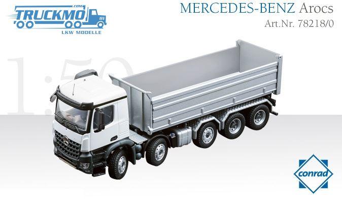 Conrad 78008 Mercedes BENZ Arocs Classic Space Agrar LKW  1:50 NEU in OVP