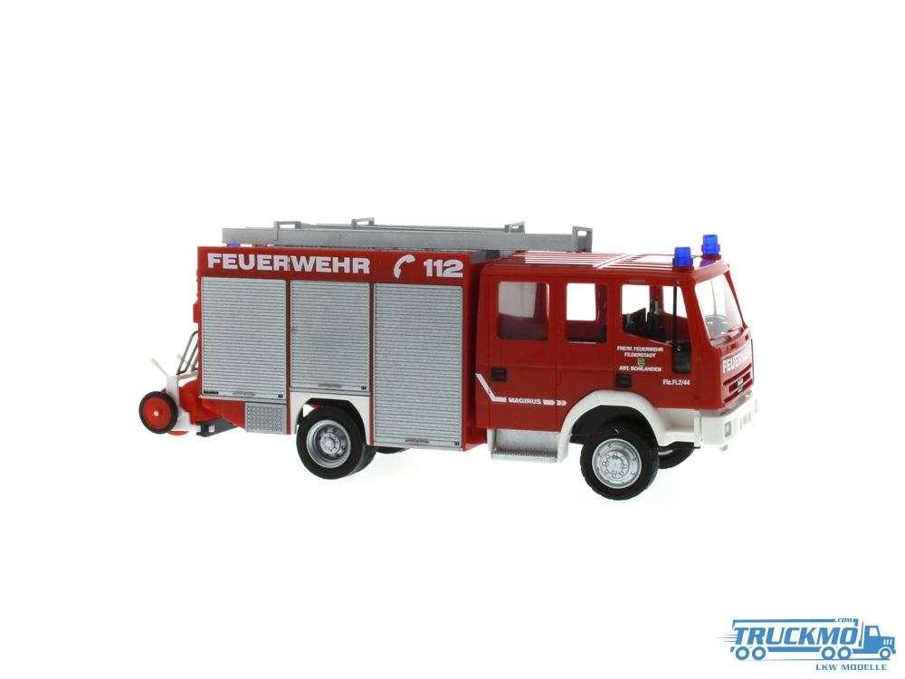 Rietze Feuerwehr Fliderstadt Iveco Magirus Eurofire LF 16/12 68127