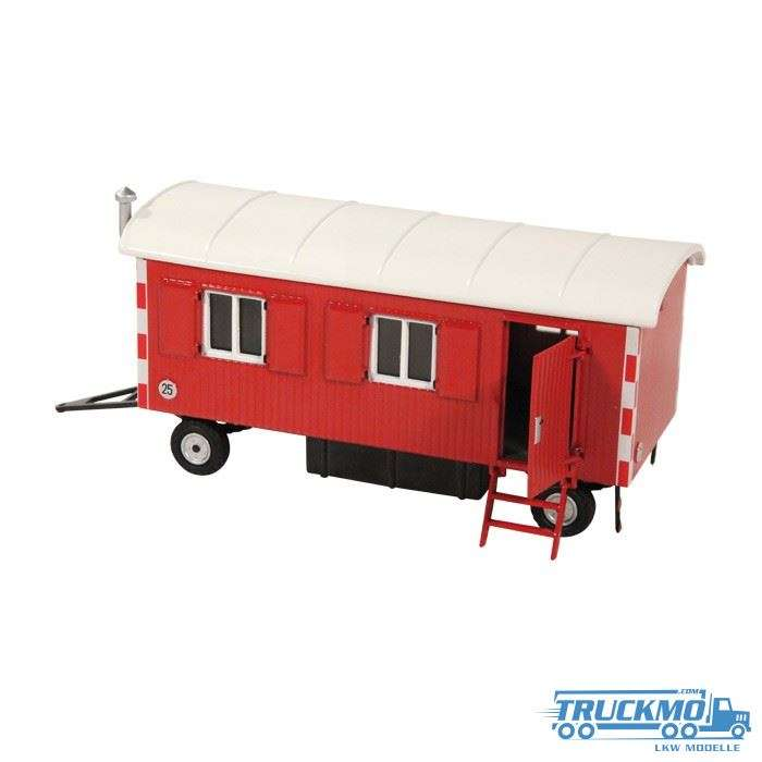 NZG construction trailer red 505/10