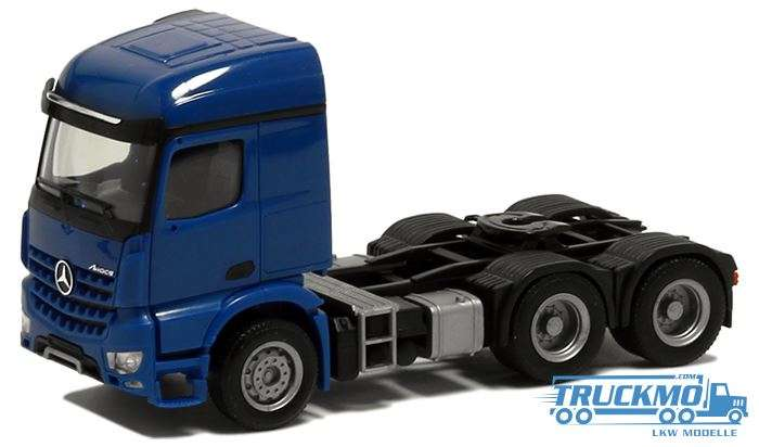 Herpa Mercedes Benz Arocs 3 Achs blau 560622