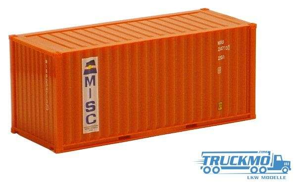 AWM Misc 20ft. Container orange 491325