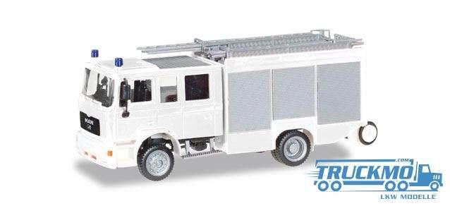 Herpa Feuerwehr Herpa MiniKit: MAN M2000 Löschfahrzeug HLF 20 012898