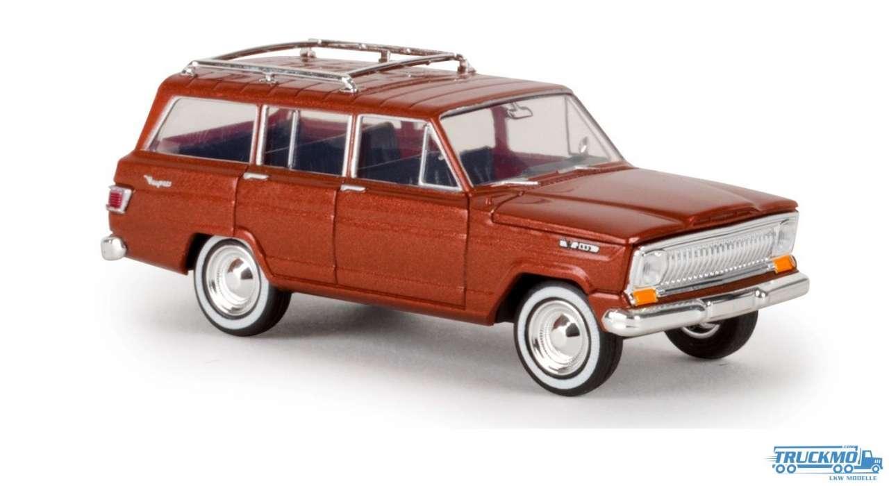 Brekina Jeep Wagoneer kupfer metallic 19854