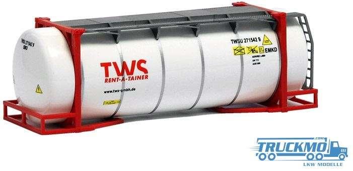 AWM TWS 26ft. Tankcontainer weiß 491229