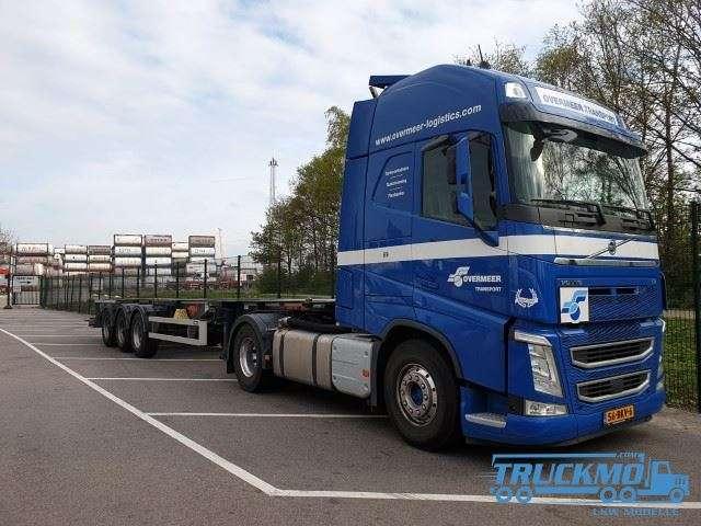 Tekno Overmeer Transport Volvo FH04 Globetrotter Tankcontainer 76252