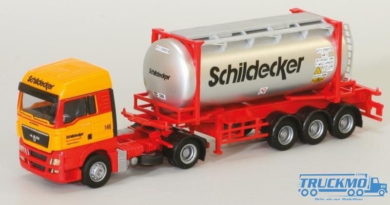 AWM Schildecker MAN TGX XLX Swapbody-SZ