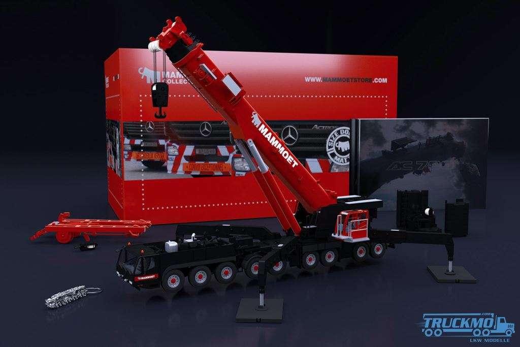 IMC Models Mammoet Edition Demag AC 700-9 Kran Modell